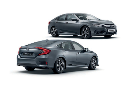 Honda Civic 4 Door Sedan Sports Pack